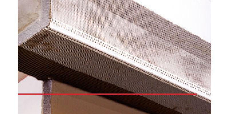 Kale EPS Fileli PVC Köşe Profili